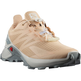 Salomon Supercross Blast Schoenen Dames, almond cream/lunar rock/quarry